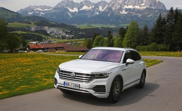 New VW Touareg a high tech feast