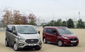 Ford reveals latest Tourneo MPV