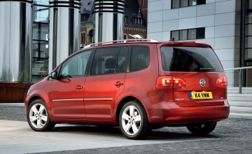 New Touran VW's most efficient MPV