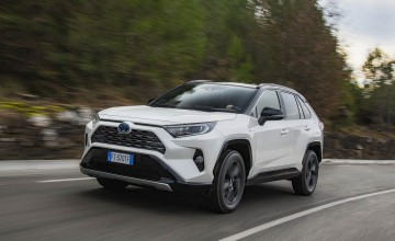 Toyota RAV4 takes an interesting turn