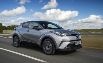 Toyota goes for a stunner with C-HR