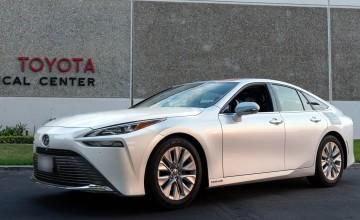 Range record for Toyota Mirai hydrogen car