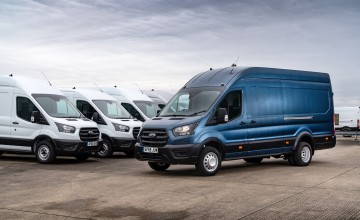 High fives for Ford Transit anniversary
