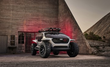 Audi showcases futuristic off-roader