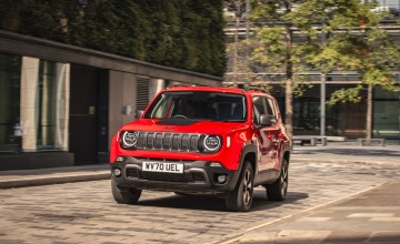 Hybrid Renegade a first for Jeep