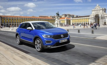 VW rocks with T-Roc compact SUV