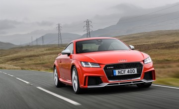 Audi TT RS - a cut-price supercar