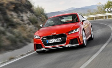 Audi TT RS - totally terrific