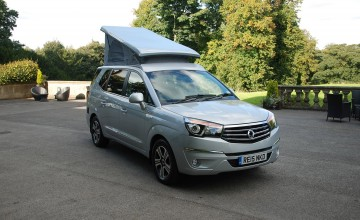 SsangYong Turismo carries on camping