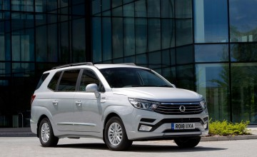 New look for SsangYong Turismo