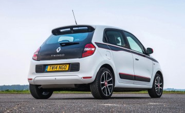 Dynamic style for flagship Twingo