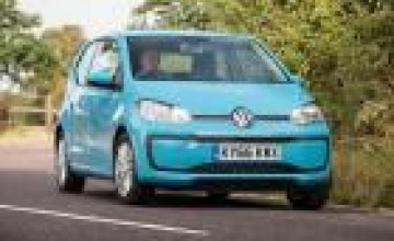Volkswagen up! goes higher