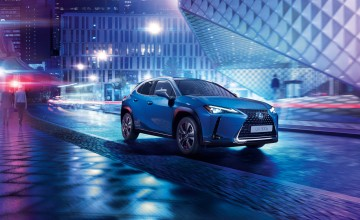 Lexus launches first electric model