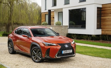 Techno upgrades for Lexus UX