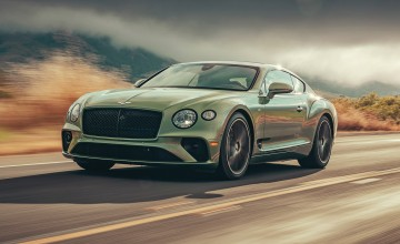 Bentley reveals new Continental V8