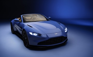 Convertible Vantage released by Aston Martin