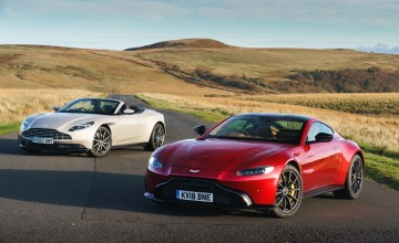 Aston Martin's new V models