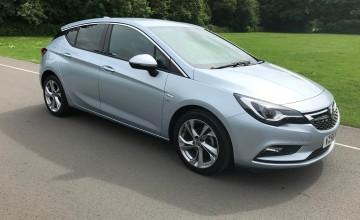Vauxhall Astra SRi NAV 1.4 Turbo