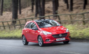 Vauxhall Corsa Red 1.4 T