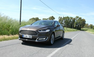 Mondeo Vignale takes Ford upmarket