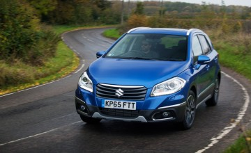 Suzuki S-Cross - auto 4x4 with 62mpg