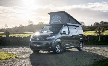 Vauxhall Vivaro carries on camping