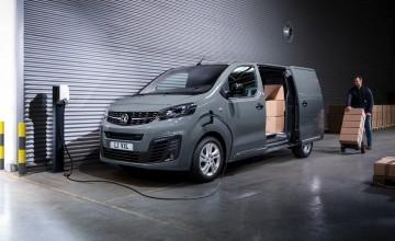 Vivaro goes electric at Vauxhall