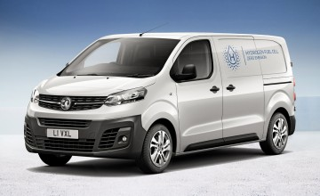 Fuel cell van planned by Vauxhall