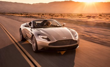 Topless treat with DB11 Volante