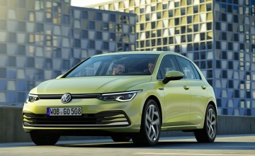 New VW Golf breaks cover