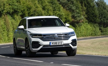 More engine choice for new Touareg