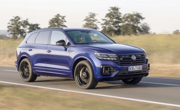 Power and green glory for Touareg