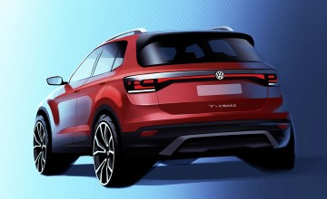 First glimpse of Volkswagen T-Cross