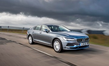 Up hill and down dale with Volvo S90