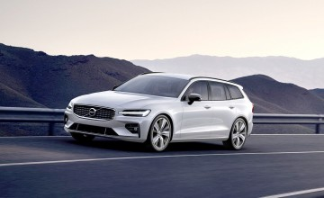 Volvo estate gets sporty