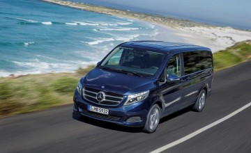 New luxury MPV from Mercedes
