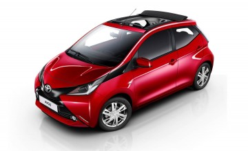 Open top's an Aygo go-go