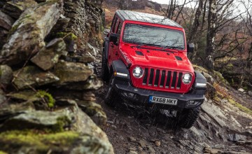 Jeep Wrangler rises to any off-road challenge