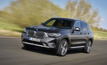 All threes and fours for latest BMWs