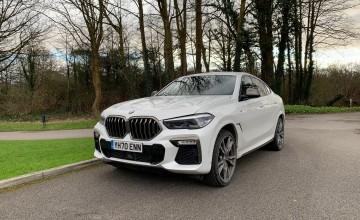 BMW X6 3.0 400hp V6 M50d