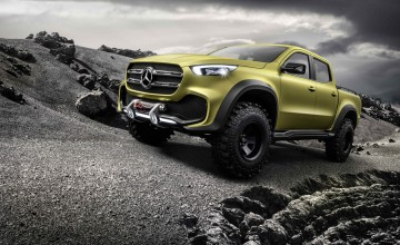Mercedes X-Class - the posh pick-up