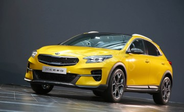 Kia XCeed on crossover front