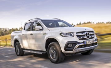 Merc reveals V6 diesel X-Class prices