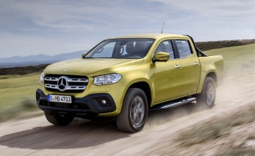 Mercedes prices posh X-Class pick-up