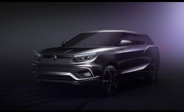 SsangYong Tivoli stretched for Geneva
