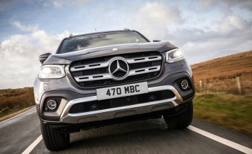 Bling and Benz with Mercedes X-Class