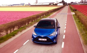 Toyota Yaris shows hybrid credentials