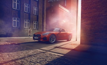 New BMW Z4 shown in USA