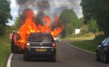 Vauxhall Zafira - more fire risk recalls