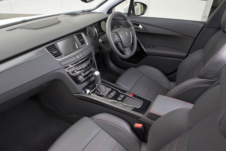 Peugeot 508 RXH, interior